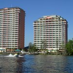 A lakeside, family resort featuring condominium-style suites