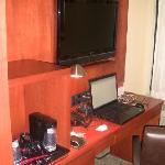 Desk and workarea