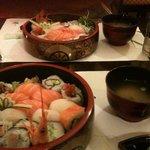 maki/sushi combo