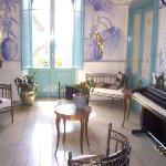 Il salottino dell'hotel Lilium