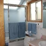 The bathroom in cottage #4.