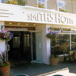 The perfect Somerset holiday - Smiths Hotel bar and restaurant over looking the sea front in Wes