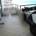 Honeymoon suite deck
