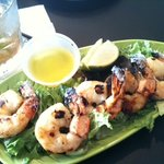 Margarita Fire Grilled Shrimp