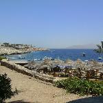 beach near itialian restaurant