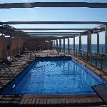piscine sur le solarium 3ème étage