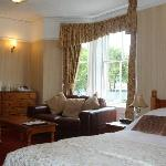 Deluxe double room over looking St johns church