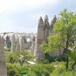 fairy chimneys in love valley