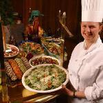 Snow Park Restaurant's Natural Buffet at Deer valley