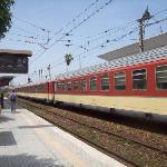 Gare de Mohamédia. Train pour fès.