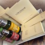 L´occitane amenities