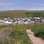 Parkdean from the top of the hill path