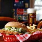 Chicken burger iRockCafe
