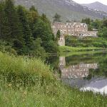 Ballynahinch Castle from the road