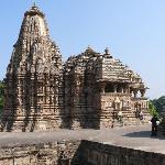 Khajuraho tempelground