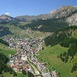 Selva di Val Gardena in estate