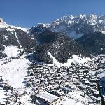 Selva di Val Gardena in inverno