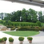The cascade at the Castle Gardens. Alnwick
