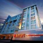 The façade of Amari Residences Bangkok