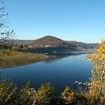 Nur wenige Kilometer von Bad Wildungen, der Edersee