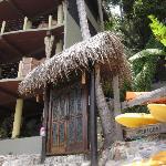 Front door to Casa Pericos
