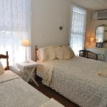 One of our comfortable guest rooms