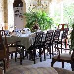 Breakfast room.... Yummy!!!