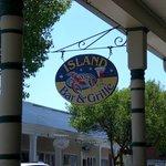 Island Bar & Grill sign