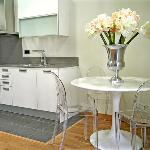 The spacious Kitchen with all new appliances