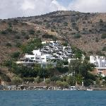 Elounda Blue Bay from the sea