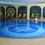Particolare della piscina coperta