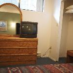 TV in most bedroom areas, only in living room in the 2 or 3 bedroom suite
