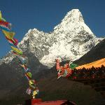 Amadablam - one of the great views you can see on trek in the Everest region