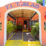 If you take a cab to El Tablao, this is the entrance you'll be watching for.