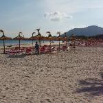 Alcudia Beach - over road