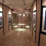 Underground tunnel in the hotel