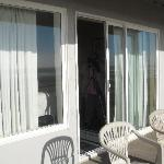 Open the sliding glass door and walk onto the clean beach or sit and enjoy watching the ocean.