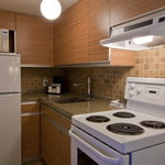 We offer kitchenettes and One Bedroom Suites