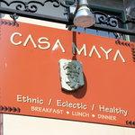 Casa Maya sign