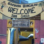 Entrance to Banana Bungalows