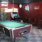 We have pool tables too