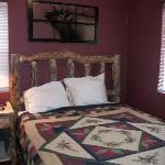 Very comfortable, cozy bedroom