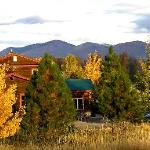 Fall Aspens Looking at the Chewuch Inn