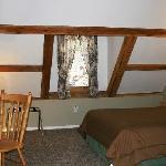 main level of loft room