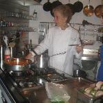 Yara in her beautiful kitchen.