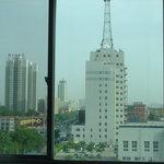 view out of the window (Xianyang Lizhiwan)