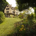 Oaks Hotel from garden
