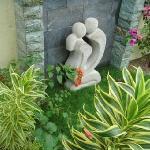 garden inside our villa