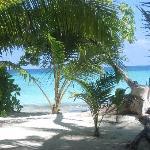 vu depuis villa beach jacuzzi