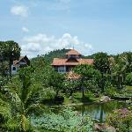 Anlage mit wunderschönem Garten